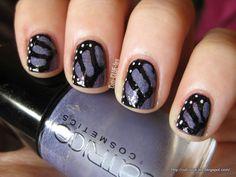 Cuti-CLUE-les: Butterfly-Wing nail art tutorial
