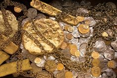 Spanish Gold Ships | Spanish Galleon shipwreck - Treasure salvaged by the Fisher team from ...