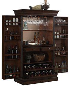 Angelina Server contemporary bar tables - Open