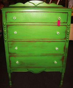 Painted furniture ~ Dresser