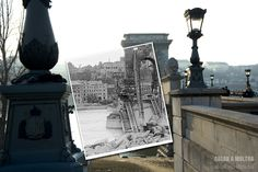 "1945 and 2011 | 25 Extraordinary Photos That Create A ""Window To The Past"""
