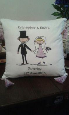 Large wedding cushion no.2