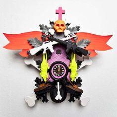 Stefan Strumbl clocks - Wicked!