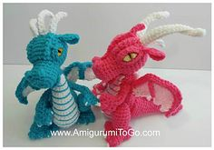 Ravelry: Small But Mighty Dragon pattern by Sharon Ojala