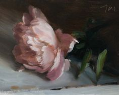 daily painting titled Peony - click for enlargement