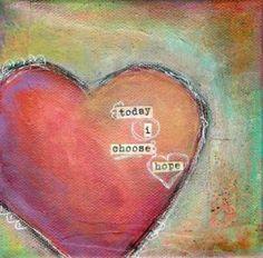 HOPE Art Journal Pages, Art Journals, Journal Covers, Bible Journal, Heart Art, God's Heart, Heart Broken, Chd Awareness, I Love Heart
