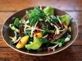 Eendborst-vijfkruiden-salade