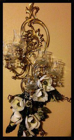 Candelabros decorados :) elige el color de vela que desees.