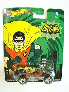 Hot Wheels Batman Classic TV Series Ford F-150