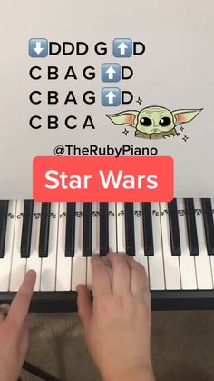 therubypiano( on TikTok: How to play Baby Shark on Piano 🎹❤️🦈 Piano Sheet Music Letters, Piano Music Notes, Easy Piano Sheet Music, Flute Sheet Music, Ukulele, Violin, Play Baby Shark, Music Chords, Kalimba