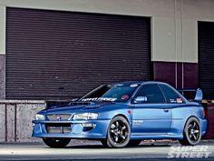 1999 Subaru Impreza - styling with a L'aunsport 99 widebody kit Tuner Cars, Jdm Cars, Subaru Rs, Subaru Impreza Sti, 5 Rs, Subaru Legacy, Japan Cars, Rally Car, Cute Images