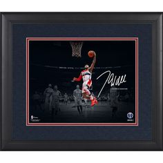"John Wall Washington Wizards Fanatics Authentic Framed 11"" x 14"" Spotlight Photograph - Facsimile Signature - $89.99"