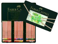 Amazon.com: Pitt Artist 60 Pastel Pencil Metal Tin Set