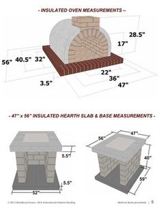 Pizza Oven Plans How to Build a Pizza Oven Americas image 2 Stone Pizza Oven, Build A Pizza Oven, Pizza Oven Kits, Brick Oven Outdoor, Outdoor Kitchen Bars, Pizza Oven Outdoor, Outdoor Kitchens, Oven Diy, Four A Pizza