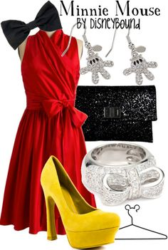 Minnie Mouse by disneybound