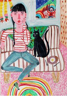 https://flic.kr/p/xQ9orU | Untitled | cigarrette and cat 2015