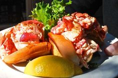 Maine Foodie Tours Bar Harbor, Maine The Perfect Lobster Roll