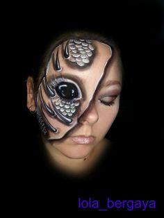 Facepainting by Lola Bergaya