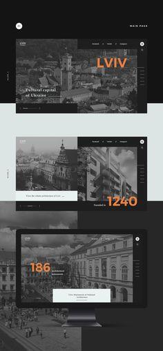 Lviv architecture on Behance