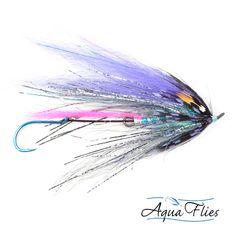 Senyo's Predator Scandi Fly Blue Purple Steelhead Salmon 3 Flies