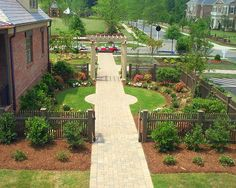 Atlanta Landscape Wood Fence Design, Pictures, Remodel, Decor and Ideas - page 3