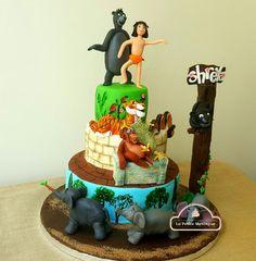 Jungle book cake - Cake by Radha Dhaka