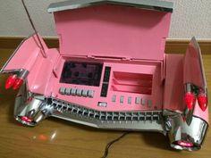 Pink Cadillac tail fin