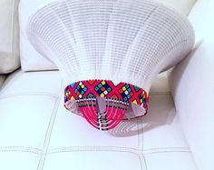 Zulubeads by Irene Ada by ZuluBeads on Etsy Zulu Traditional Attire, South African Traditional Dresses, Traditional Wedding Attire, Traditional Ideas, Traditional Weddings, Zulu Wedding, Wedding Hats, Latest African Fashion Dresses, African Print Fashion