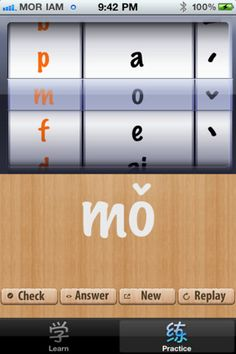 Pinyin App for iPhone