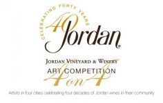 Jordan Winery 4 on 4 Art Competition celebrates art and wine in four major cities.