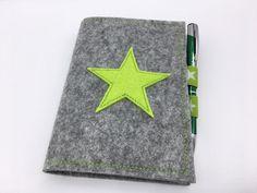 DIN A6 - Notizbuch Notizblock Ringbuch A6 kariert Name - ein Designerstück von crea--team bei DaWanda