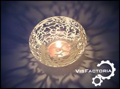 print model Floral Tea Light Shade, formats include STL, BLEND, cosy dining, ready for animation and other projects 3d Projects, Ceramic Plates, Model Homes, Light Shades, Tea Lights, 3d Printing, Christmas Bulbs, Holiday Decor, Floral