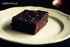 Bananowe brownie bez cukru - Nie(tylko)kuchnia