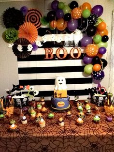 Interesting Decorations Ideas For A Frightening Halloween Party. Below are the Decorations Ideas For A Frightening Halloween Party. This article about Decorations Ideas For A Frightening Halloween Party Disney Halloween, Halloween Tags, Halloween Theme Birthday, Halloween 1st Birthdays, Mickey Halloween Party, Halloween Party Decor, Birthday Party Decorations, Birthday Ideas, Hallowen Party