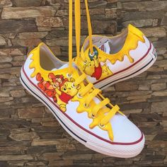 Disney Painted Shoes, Painted Converse, Painted Sneakers, Disney Shoes, White Canvas Shoes, Painted Canvas Shoes, Custom Painted Shoes, Custom Shoes, Painted Toms