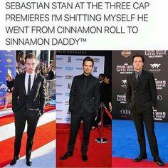 Sebastian Stan, please never change! ❤