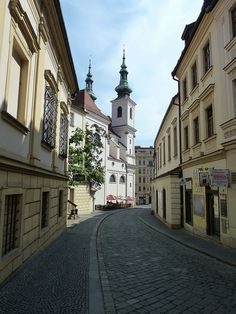 St Michael's and Dominikánská, Brno, Czech Republic