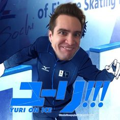 Has this been done yet? Urie!!! On Ice