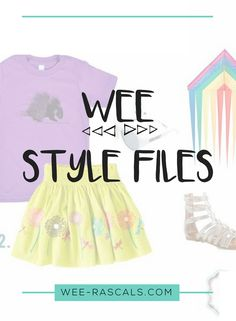 Wee Style Files is back with the girl's look for the Porcupine 100% Organic Cotton Short Sleeve! How cute is this kite?! Doesn't it just scream summer? We are loving our short sleeve shirts paired with a fun skirt for girls. How did you style your porcupine? We'd love to know. Send us your pics! Check back next week as we continue the Wee Style Files and introduce a fun new series. Happy Thursday, y'all!
