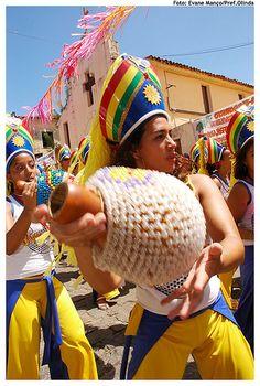 Maracatu  Pernambuco Brasil
