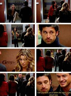 Grey's Anatomy, loved this moment
