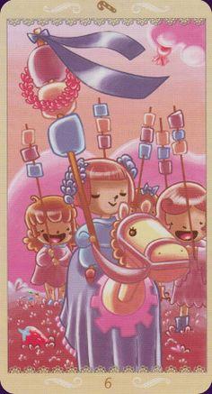 Happy-Tarot beautiful and cute tarot cards. I love and need them!