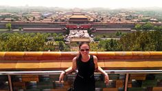 Birds eye view of the incredible Forbidden City, China. Not sure what I was more excited about - learning the history, or picking the areas that they showed in Mulan! :)