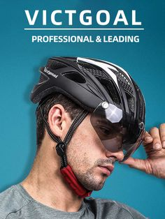 Get your best helmet from VICTGOAL. Your Professional Cycling Expert Cool Bike Helmets, Bicycle Helmet, Cool Bikes, Cycling, Biking, Cycling Helmet, Bicycling, Ride A Bike