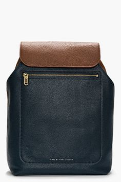 c86b3c94464f MARC BY MARC JACOBS Peacock green pebbled leather Slice  amp  Dice backpack  on shopstyle.