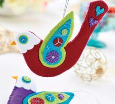 Festive doves