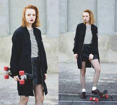 Kristina Magdalina - Zaful Jacket, Dressin Blouse - Striped.