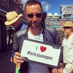 You are our hero @manszelmerlow  Thank you for visiting #ericssonopen  #wta #båstad #tennis #månszelmerlöw #hero #playersparty