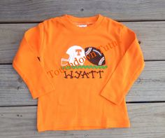 Tennessee football shirt by TouchdownTutus on Etsy, $26.00