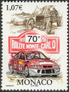 Monaco/2002/Timbre MC016.02 Monaco 16 Janvier 2002 Automobile Club de Monaco  70eme Rallye de Monte-Carlo - Sport.jpg